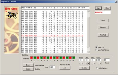 Simple Control Software For Switching A 9v Lamp On And Off Under PC Control