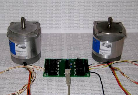 Stepper Bee Usb Adaptor Board For Large Stepper Motor